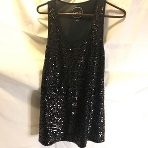 Sequin Tank Top by inc. NWT XL